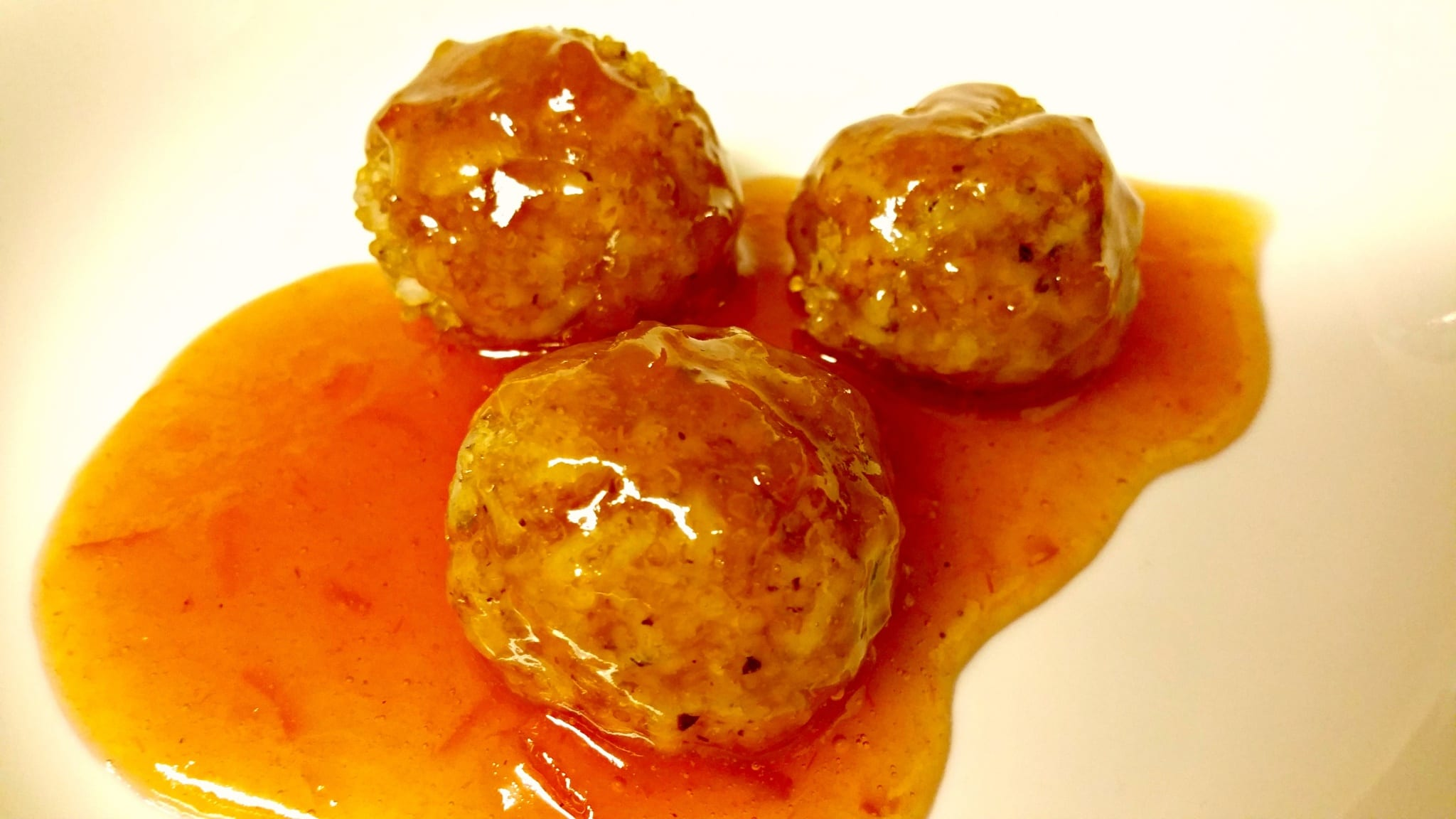 Lemongrass Ginger Shiitake Meatballs