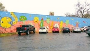 Parking lot Wall