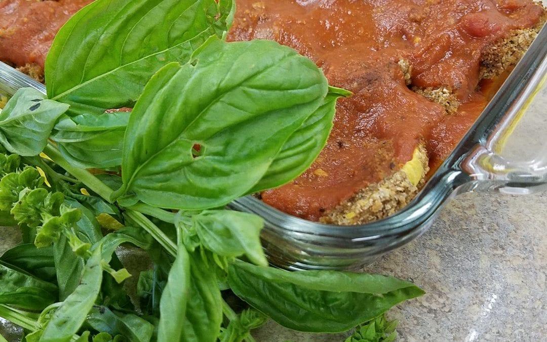Vegan Eggplant Parmesan- Elizabeth Fresse