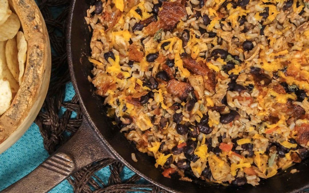 Veggie Chicken Rice Bake