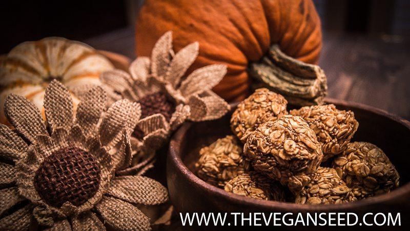Pumpkin Spice Energy Balls