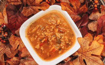 Spicy Pumpkin Chicken Chili